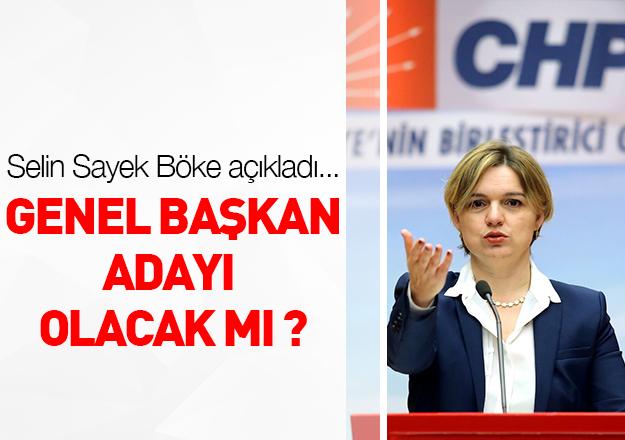 Selin Sayek Böke aday olacak mı?