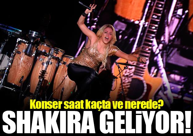 Shakira konseri saat kaçta ve nerede? Biletler kaç lira