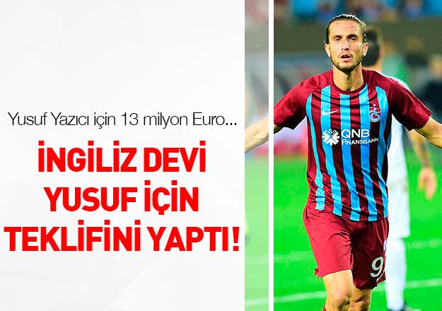 Yusuf için 13 milyon Euro!