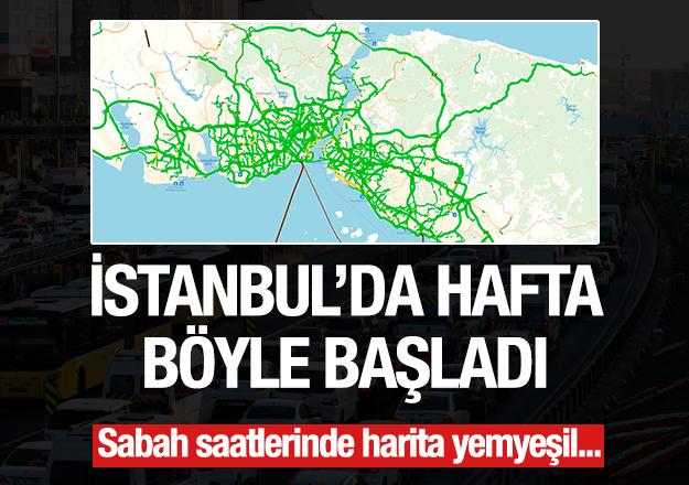 20 Ağustos 2018 Pazartesi İstanbul Yol Haritası - İstanbul'da trafik nasıl?