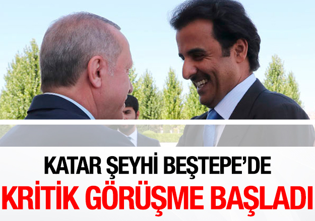 Al Sani Türkiye'ye geldi! Kritik görüşme başladı
