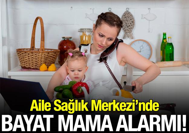 Bayat mama alarmı