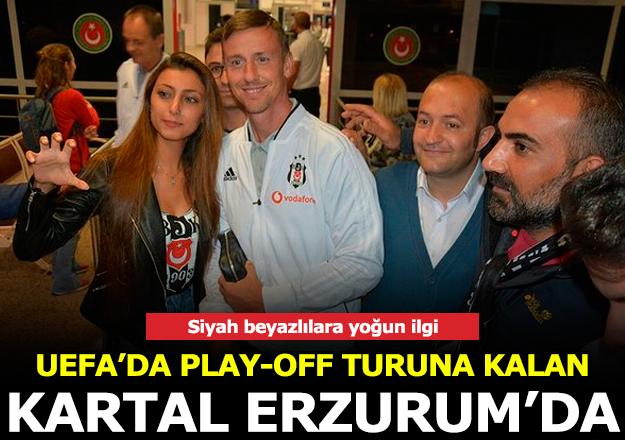 Beşiktaş Erzurum'da
