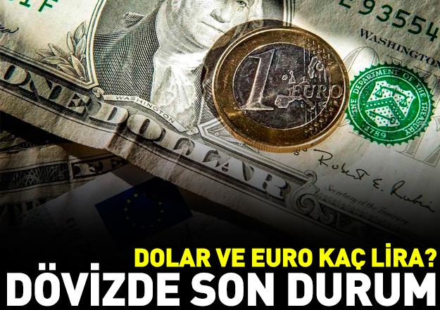 Dolar ve euro kaç lira? 14 Ağustos Salı alış ve satış fiyatları
