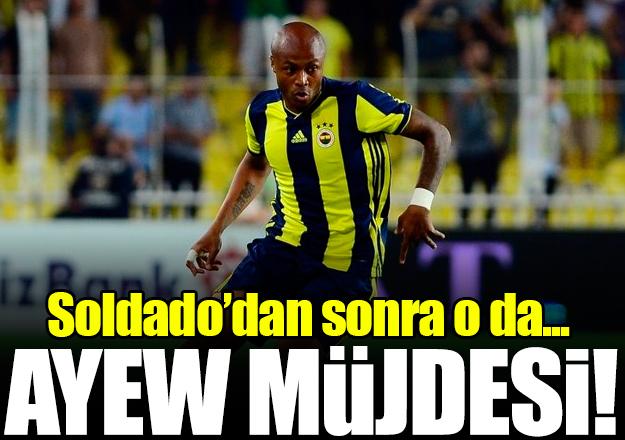 Fenerbahçe'de Ayew ve Soldado sevinci