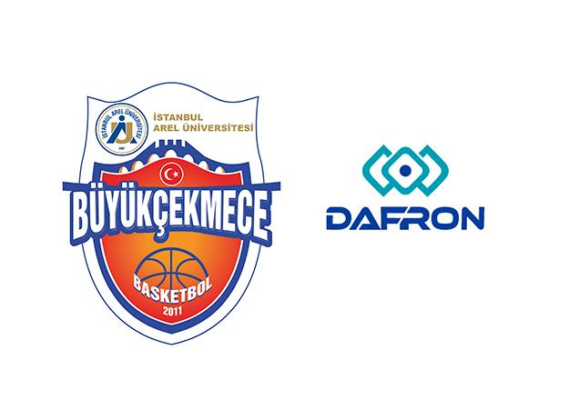 İstanbul Arel Üniversitesi Büyükçekmece Basketbol'un ürünleri Dafron'dan
