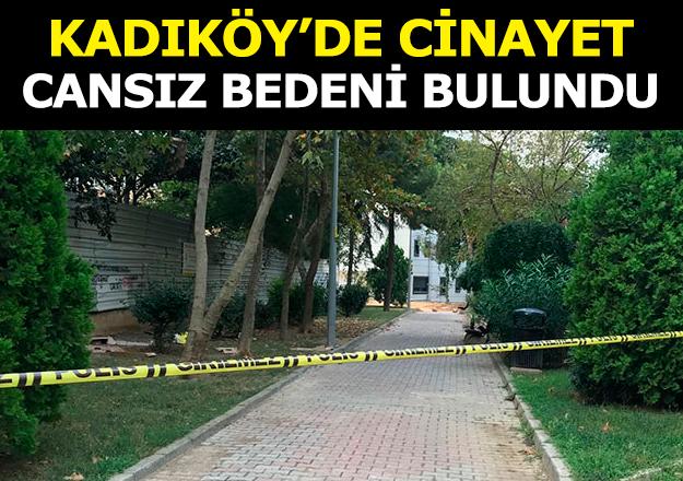 Kadıköy'de cinayet