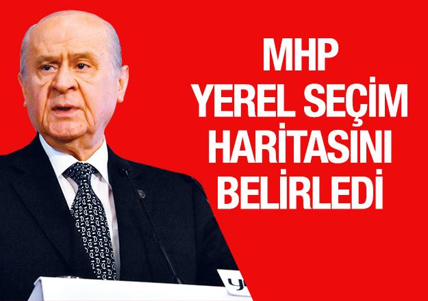 MHP'nin yerel seçim rotası belli oldu