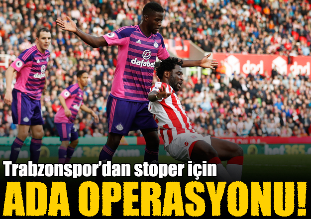 Trabzonspor'dan stoper harekatı