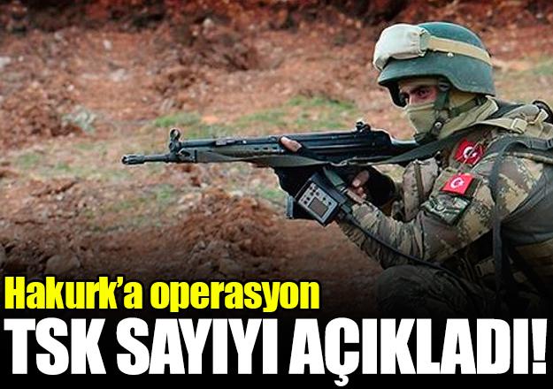 TSK'dan açıklama: 5 terörist etkisiz hale getirildi
