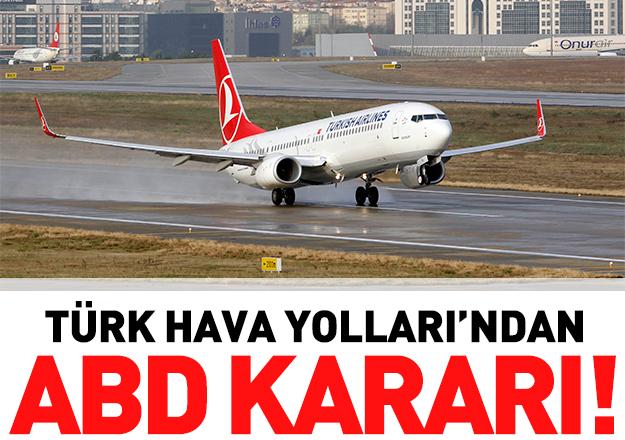Türk Hava Yolları ABD'li firmalara reklam vermeyecek
