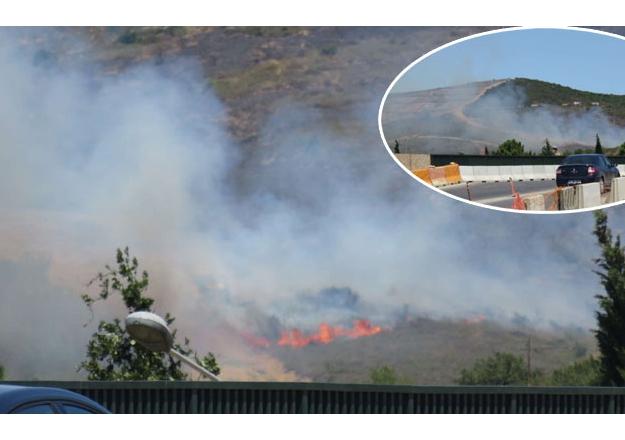 Tuzla Piyada Okulu'nda yangın!