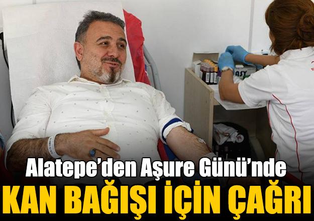 Alatepe'den kan bağışına davet