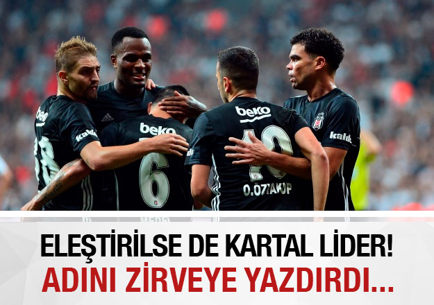 Beşiktaş zirvede!