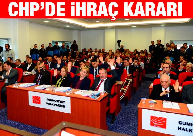CHP Beylikdüzü'nde ihraç kararı