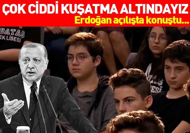 Erdoğan: Çok ciddi bir kuşatma altındayız