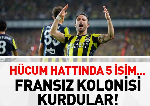 Fenerbahçe'de Fransız egemenliği