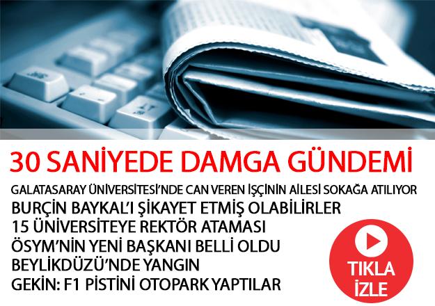 Gazete Damga - 06.09.2018 Gündemi