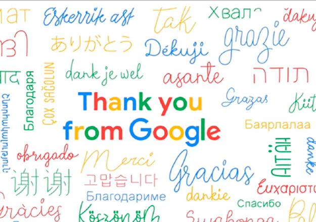 Google 20. yıl videosunda Türkçe'ye yer vermedi