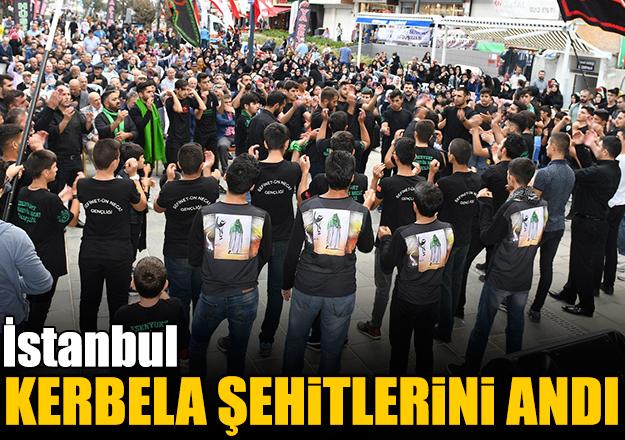 İstanbul Kerbela şehitlerini andı