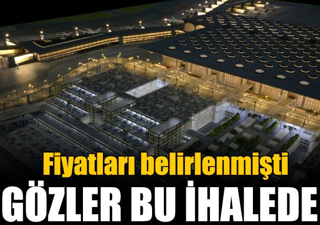 İstanbul Yeni Havalimanı otobüs ihalesi bugün yapılacak
