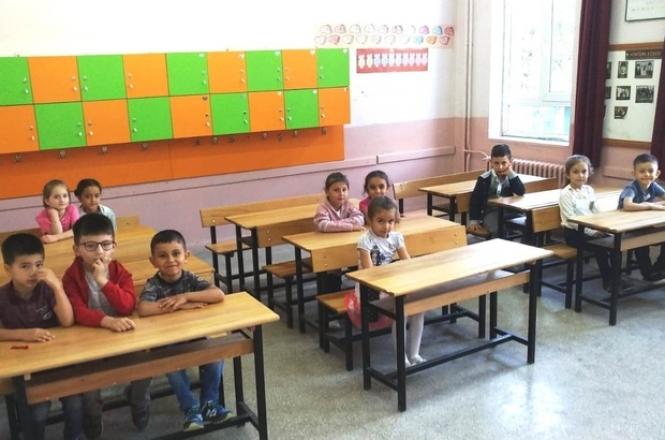 Okula uyum programında ders başı yapıldı