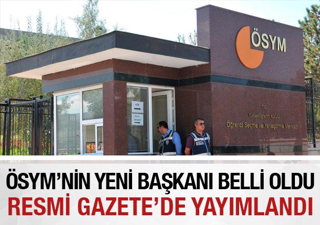 ÖSYM'nin yeni başkanı belli oldu! Prof. Dr. Halis Aygün kimdir?