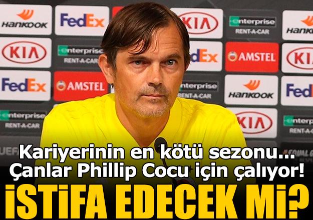 Phillip Cocu Fenerbahçe'den istifa edecek mi? Korkutucu istatistik