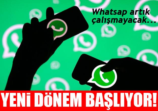 Whatsapp'ta yeni dönem! Artık çalışmayacak...