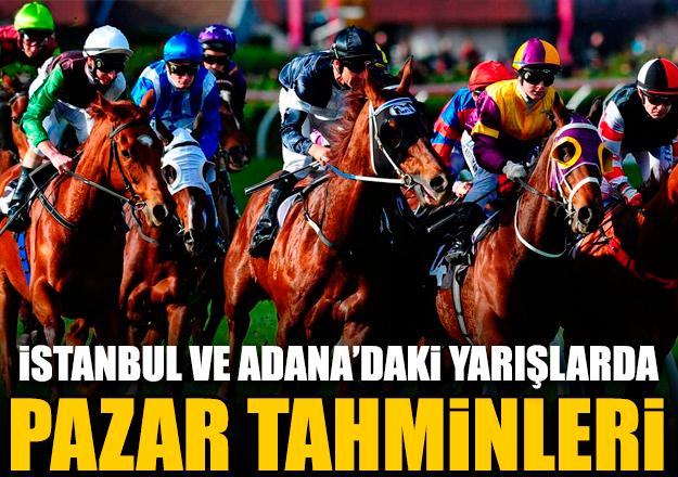 14 Ekim 2018 Pazar İstanbul ve Adana At Yarışı Tahminleri