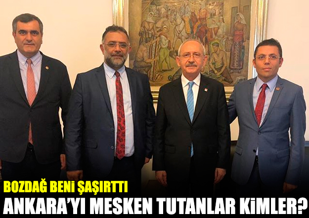 Ankara'yı mesken tutanlar kimler?