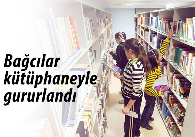 Bağcılar kütüphaneyle gururlandı