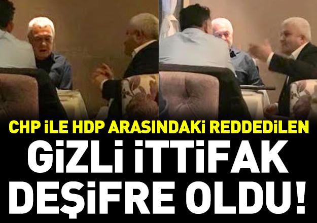 CHP-HDP ittifakı deşifre oldu
