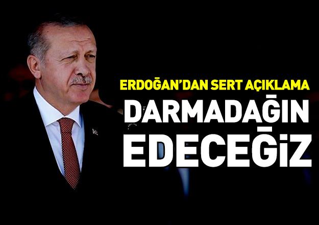 Erdoğan komandolara seslendi: Çok yakında Fırat'ın doğusundaki terör yuvalarını darmadağın edeceğiz