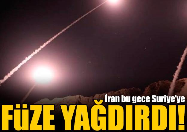 İran'dan Suriye'ye füze saldırısı