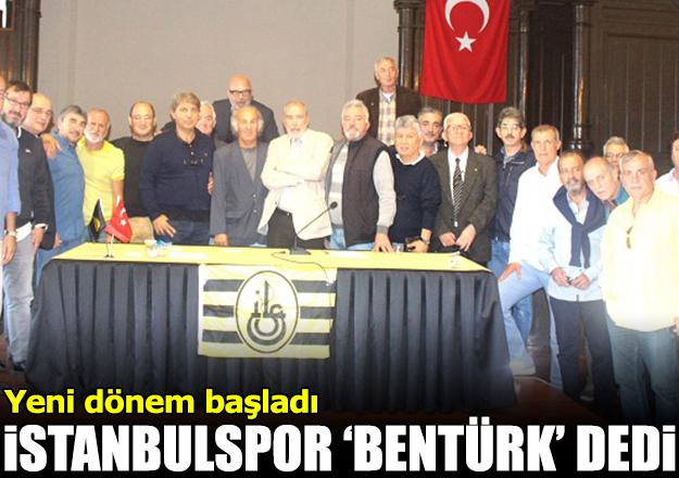 İstanbulspor 'Bentürk' dedi
