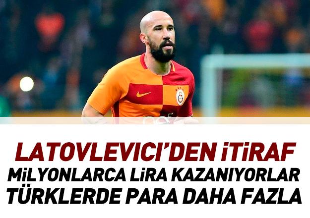 Latovlevici'den Galatasaray için 'para' yanıtı