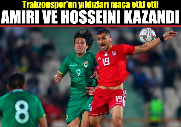 Majid Hosseini ve Vahid Amiri kazandı