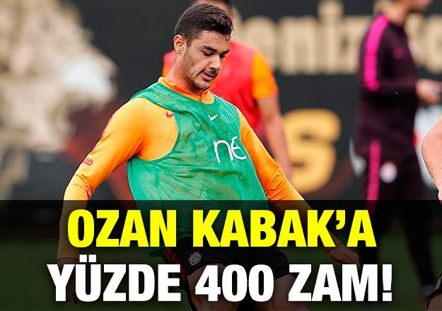 Ozan'a yüzde 400 zam!