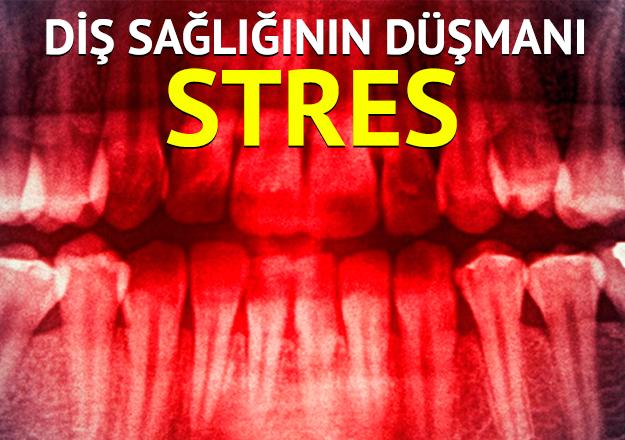 Stres yapma dişini sıkma