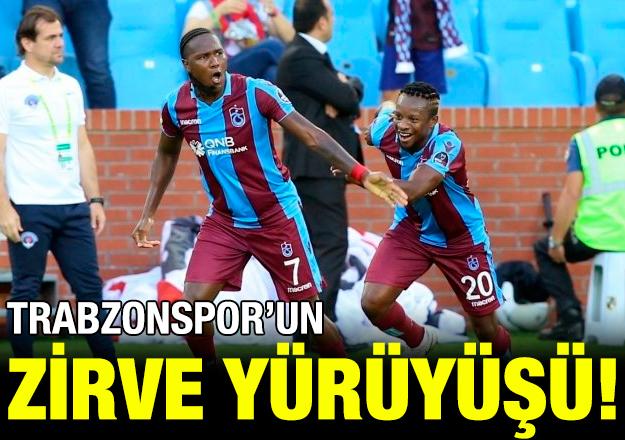 Trabzonspor'un zirve yürüyüşü