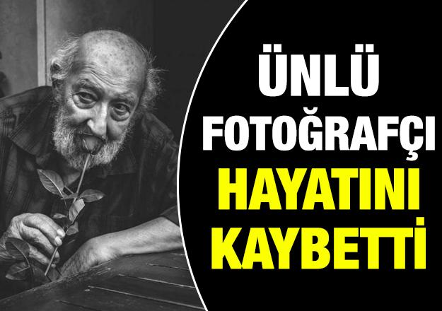 Ünlü fotoğrafçı Ara Güler hayatını kaybetti! Ara Güler kimdir