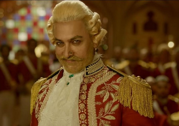Aamir Khan'a Thugs of Hindostan şoku! Sınıfta kaldı...
