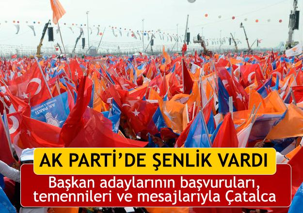 AK Parti'de şenlik vardı...