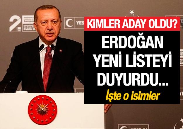 AK Parti'de yeni belediye başkan adayları açıklandı!