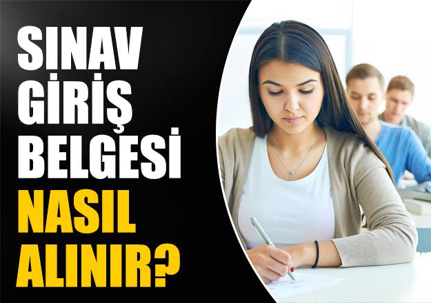 AÖF 24-25 Kasım Sınav Giriş Belgesi nasıl alınır? AÖF Resmi Sitesi