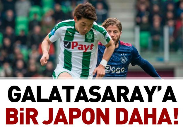 Galatasaray'a bir Japon daha!