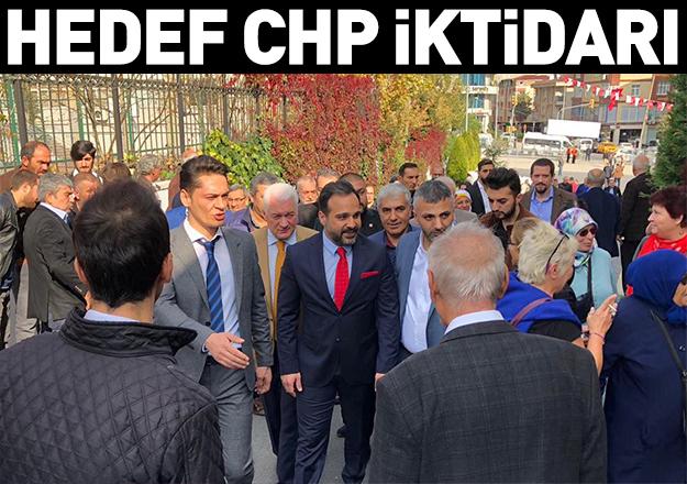 Hedef CHP iktidarı