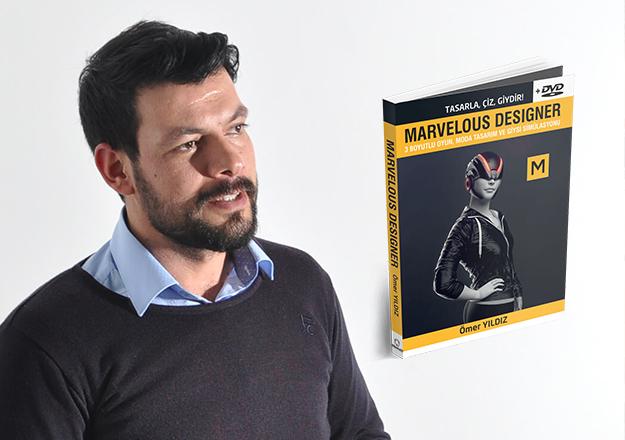 Marvelous Designer'in kitabını yazdı