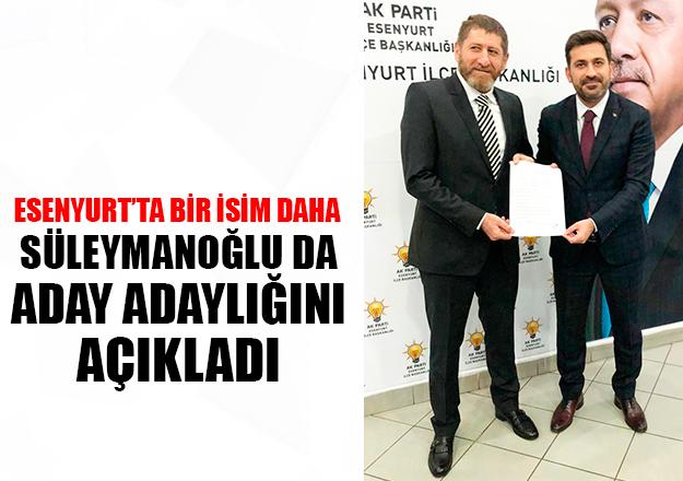 Süleymanoğlu da aday adayı